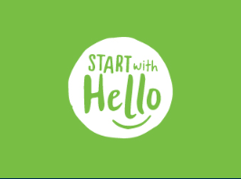 "Wear Green on September 26 to Support ""Start with Hello"" Campaign"