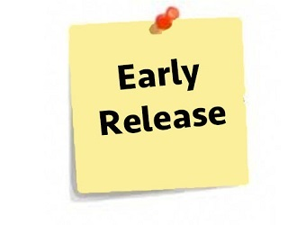 Early Release - Friday, March 26 at 11:45 a.m.