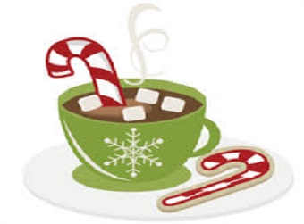 "Warm ""Hugs"" and Mugs Friday, December 18 12:30 pm - 1:30 pm"