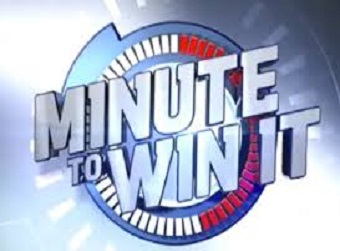 Minute to Win It RESCHEDULED