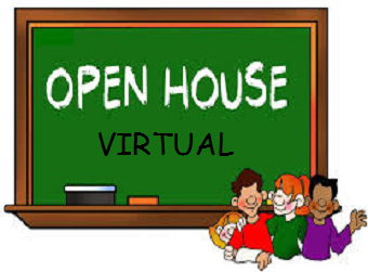 Virtual Open House Tuesday, August 25th  6 p.m. - 8 p.m.