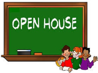Parent Open House Tuesday, August 20, 2019