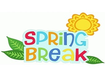 Spring Break Monday, March 23 - Friday, March 27