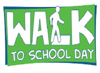Walk to School Day - Wednesday, October 2, 2019