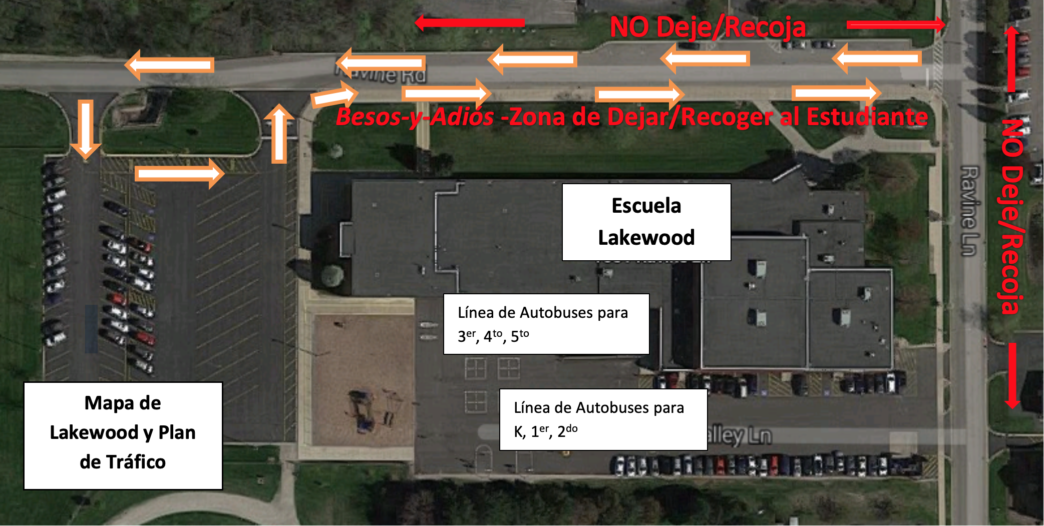 LWS Map and Traffic Pattern in Spanish