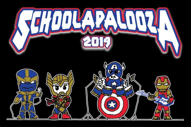 SCHOOL-A-PALOOZA! May 3rd - 6:00-9:00 PM
