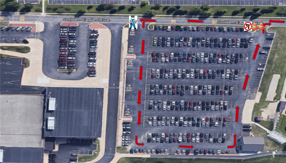 Jacobs High School Pick-Up and Drop-Off Procedures