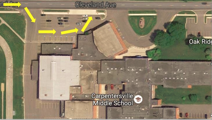 Carpentersville Middle School Pick-Up and Drop-Off Procedures
