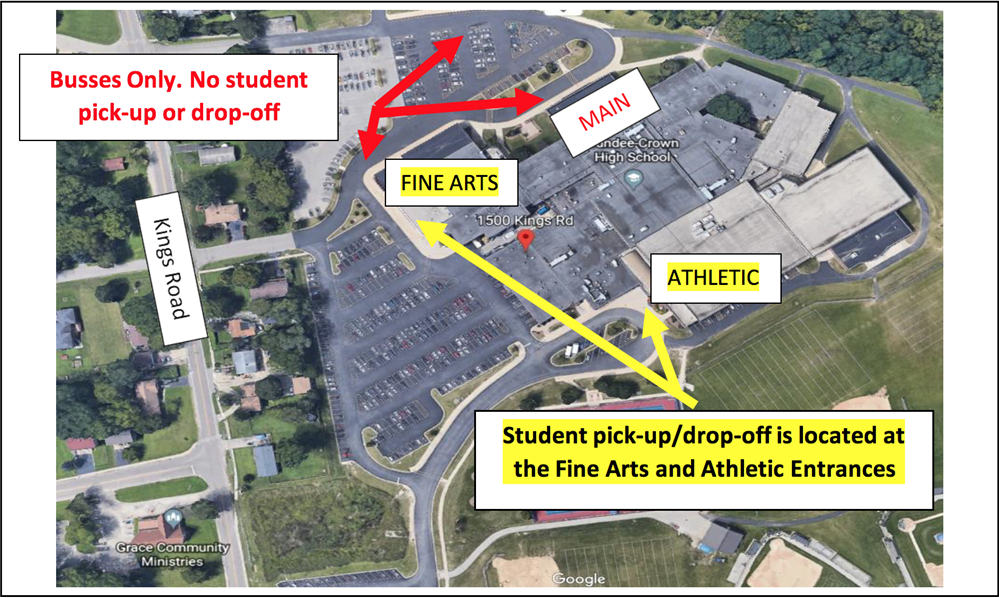 DCHS Pick-Up and Drop-Off Procedures