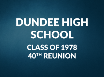 Dundee High School - Class of 1978 - 40th Reunion Information