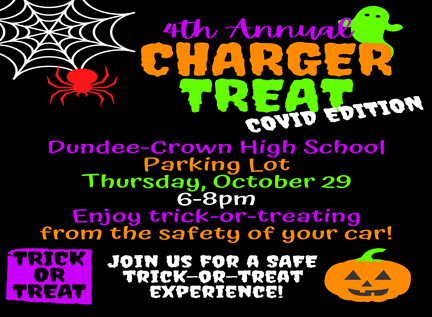 4th Annual Charger Treat. Covid Edition.