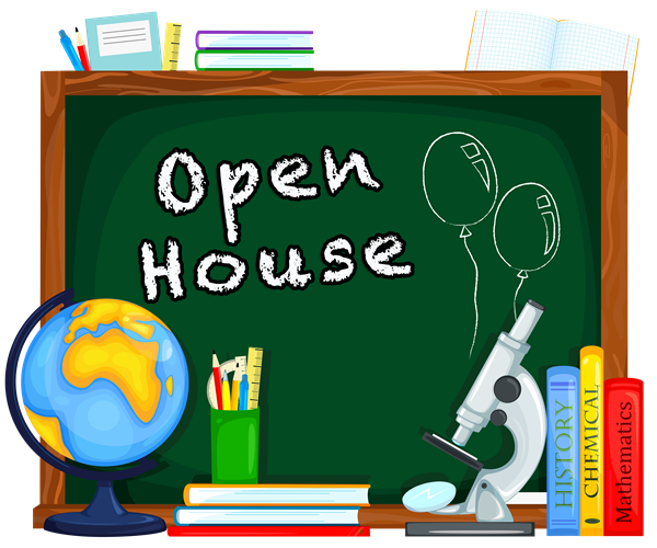 2019-2020 Open House Dates (8/20 & 8/22)