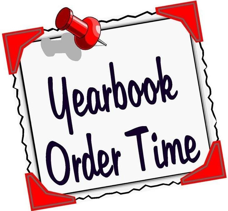 Order your Yearbooks Now!
