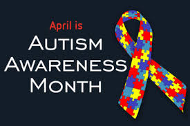 Wear blue for Autism Awareness on Tues, April 2nd