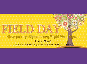 Field day lunch - there is still time to order
