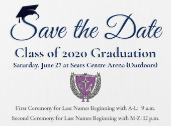 Save the Date for our 2020 Graduation Ceremonies