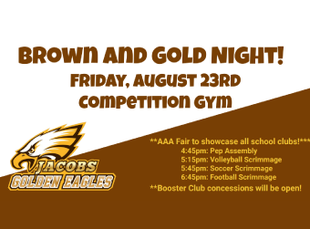 Brown and Gold Night