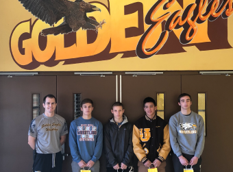 Congratulations & Good Luck At State Wrestling