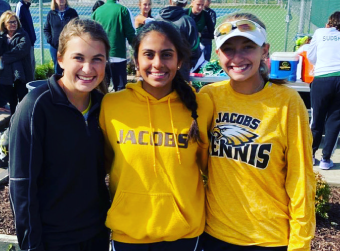 Congratulations to Chloe Siegfort, Lindsay Cunningham, and Isha Desai - Good Luck at State Tennis