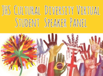 JHS Cultural Diversity Virtual Student Speaker Panel