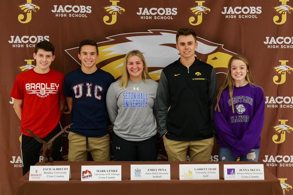 HDJ Students Sign National Letters of Intent for Division 1 Schools