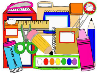 Updated School Supply List for In-Person Learners