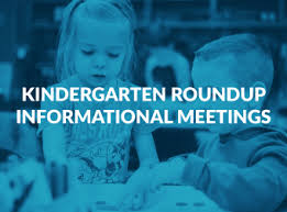 Kindergarten Roundup Meeting Information