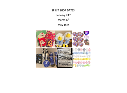 Spirit Shop Dates