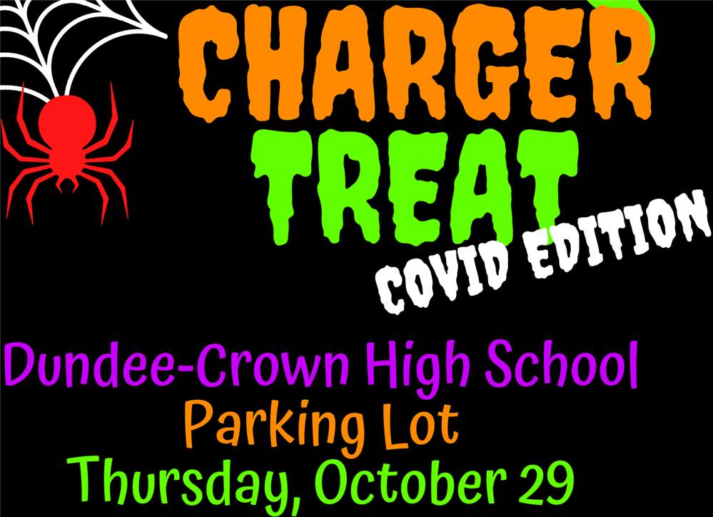 4th Annual Charger Treat  /  Dulces o bromas en Dundee Crown