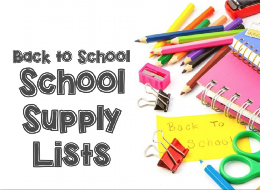 School Supply List 2020 - 2021  /  Lista de Útiles Escolares