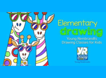 Young Rembrandts Drawing Clases for Kids     /  Clases de Dibujo para Niños