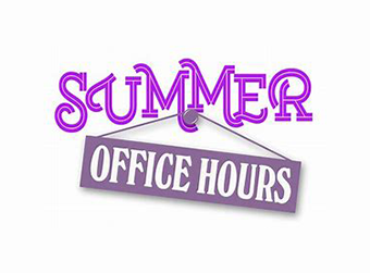 Neubert Summer Office Hours
