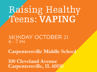 Robert Crown Presents: Raising Healthy Teens: Vaping