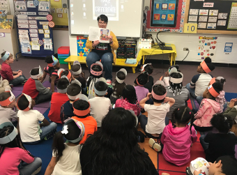 100th Day of School Guest Reader