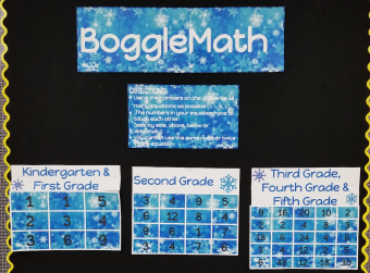 Boggle Math Board Challenge Winners