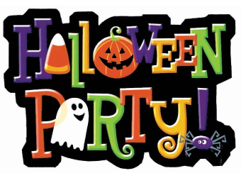 Classroom Parties- October 31st from 12:45 pm - 2 pm
