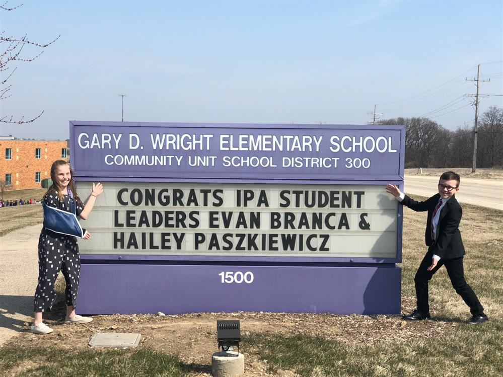 GDW Students Recognized by Illinois Principals' Association