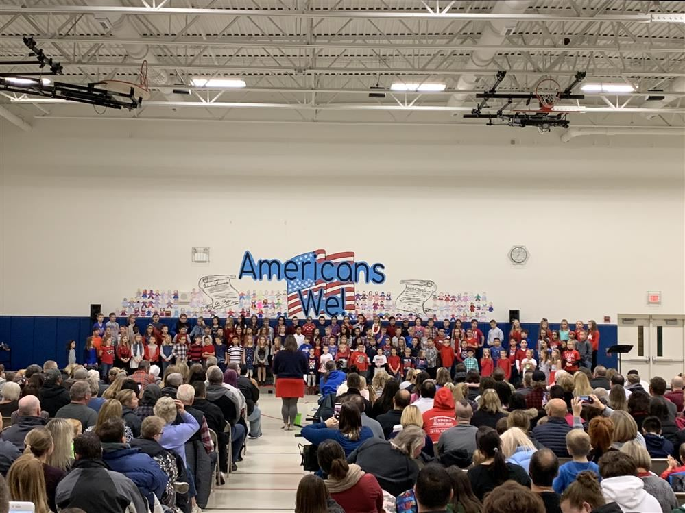 "GDW Third Graders Present ""Americans We"""