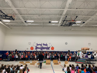 Second Grade's Spooktacular Music Performance