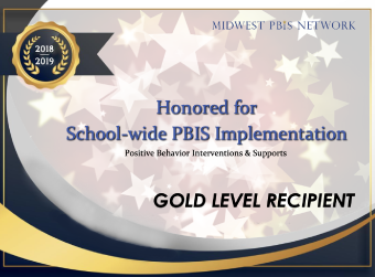 GDW Recognized as Midwest PBIS Network Gold Level Recipient