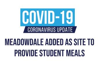 Meadowdale Added as Site to Provide Student Meals