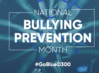 Wear Blue on Oct. 7 to Support National Bullying Prevention Month