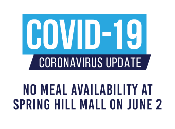 No Meal Availability at Spring Hill Mall on June 2