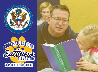 Eastview Elementary Named National Blue Ribbon School by U.S. Department of Education