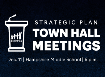 D300 to Host Strategic Plan Town Hall Meeting on Dec. 11 at Hampshire Middle School