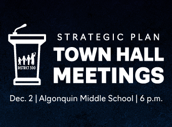 D300 to Host Strategic Plan Town Hall Meeting on Dec. 2 at Algonquin Middle School