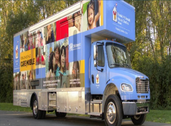 Advocate Children's Hospital Ronald McDonald's Care Mobile Will be In District 300!