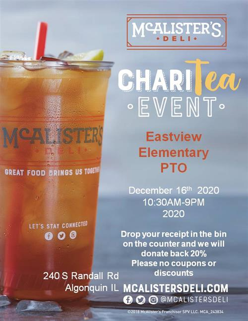 Dine and Share at McAlister's