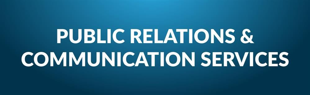 Public Relations and Communication Services